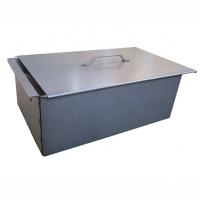 Коптильня двухъярусная с поддоном для сбора жира 450х280х170 (сталь 1,5 мм) Тонар