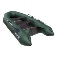 Лодка Капитан Т330 (киль+пол) (серый/зеленый)