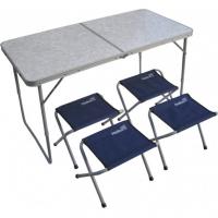Набор мебели (СТАЛЬ), стол + 4 табурета (21407+21124) Helios (пр-во ГК Тонар)