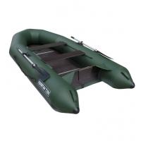 Лодка Капитан Т290 (киль+пол) (серый/зеленый)