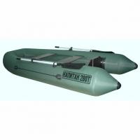 Лодка Капитан 280Тс (серый/зеленый)