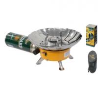 Плита газовая мини в сумке с ветрозащитой (TM-400) TULPAN-S